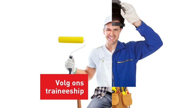 vacature-Ontdek jouw werkplek, volg het Traineeship